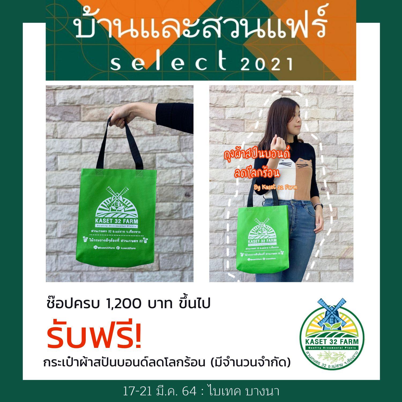 กระเป๋าผ้าสปันบอนด์ลดโลกร้อน สวนเกษตร 32